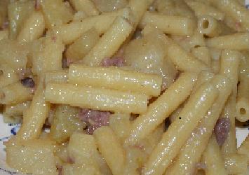 MACCHERONI CON SALSISCIA