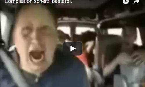 (VIDEO) Compilation scherzi bastardi.