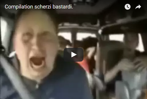 (VIDEO) Compilation scherzi bastardi.