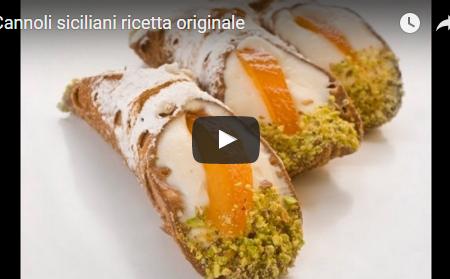 CANNOLI SICILIANI La ricetta originale