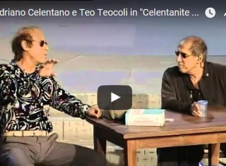 Adriano Celentano e Teo Teocoli