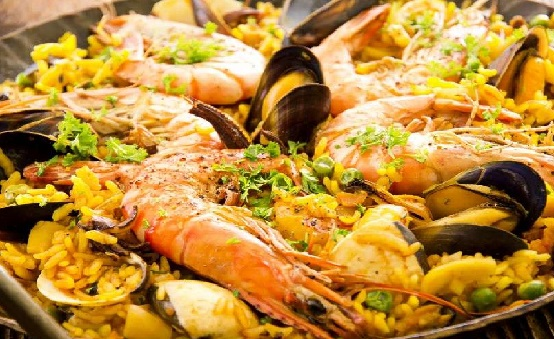 Paella Di Carne Pesce E Verdure Blog Di La Cucina Siciliana