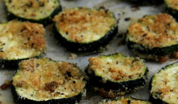 Zucchine croccanti al forno