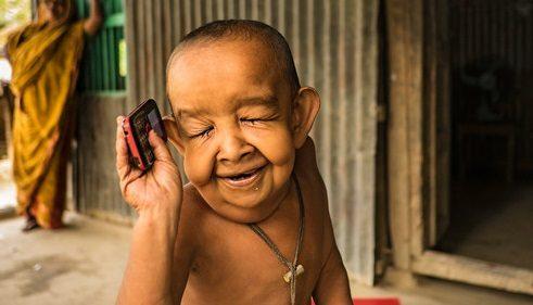 La storia straziante del bimbo più vecchio al mondo