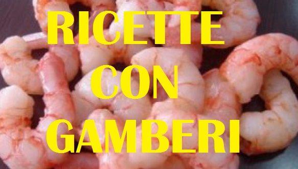 RICETTE CON GAMBERETTI